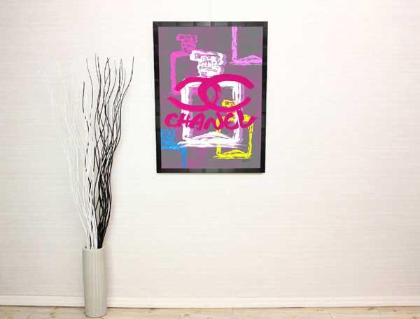 14892f152e82 絵画インテリア】ブランドオマージュアート/クレイグ・ガルシア ...