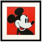 アンディ・ウォーホル「ミッキーマウス(レッド)」