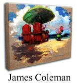 ジェームス・コールマン「岸部のフラ」