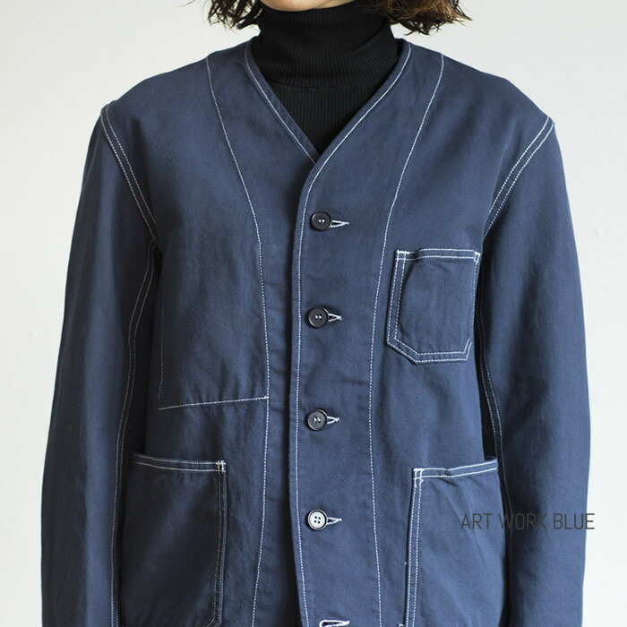ROBUR NO COLLAR JACKET
