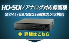 HD−SDIアナログ対応