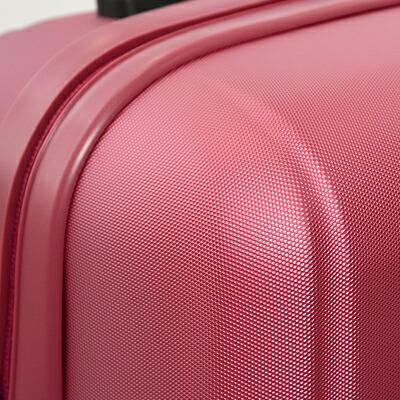 ダイアモンドパターンのスーツケース