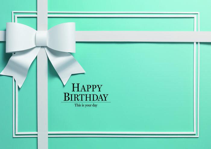 イエスタ Happy Birthday ロイヤルブル-の画像1