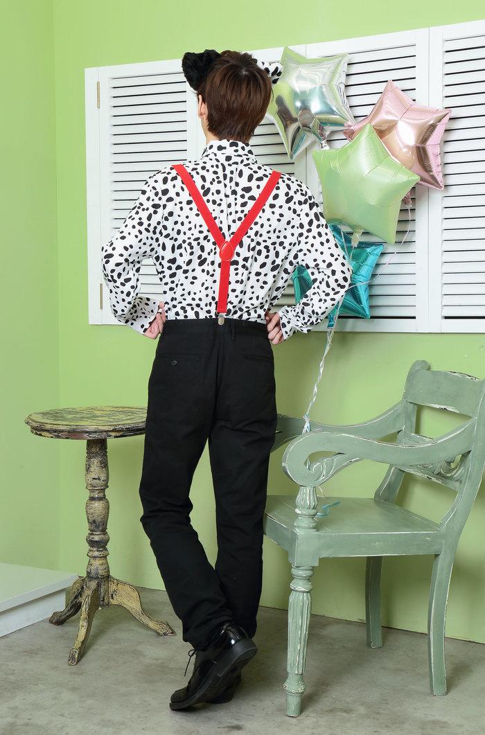 HW ダルメシアンシャツ ユニセックス メンズ レディースの画像9