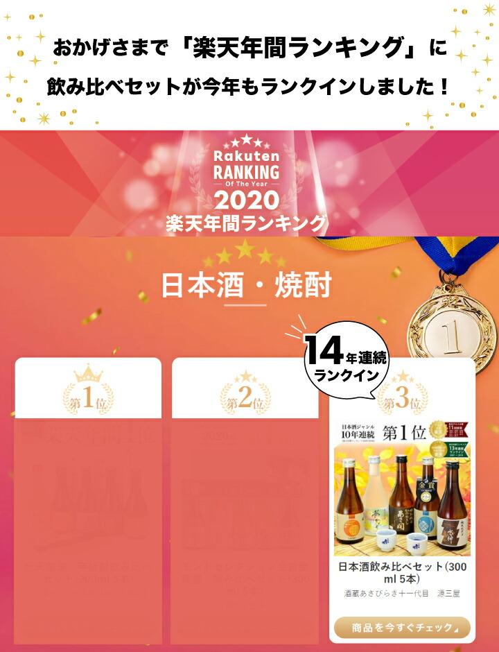 楽天年間ランキング2020!3位受賞!