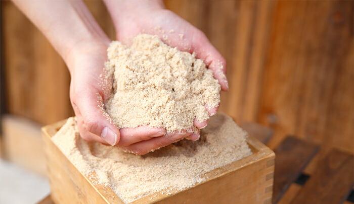 米ぬか繊維とは