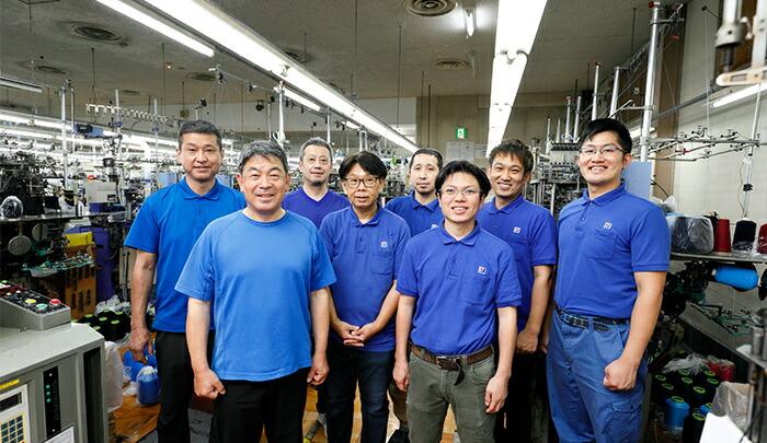 工場のスタッフ