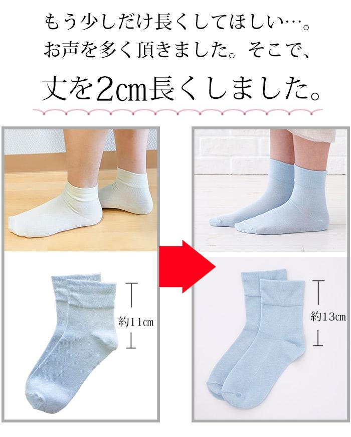 米ぬか繊維で作った締め付けない靴下