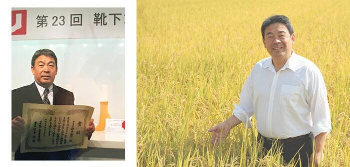 農家の発送から生まれた米ぬか繊維