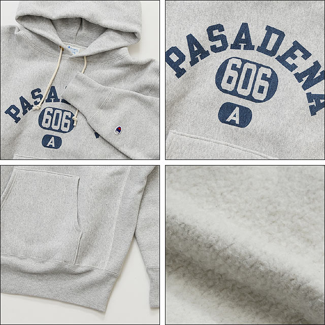 FRONT GAZETTE REVERSE WEAVE P/O SWEAT (040)シルバーグレー