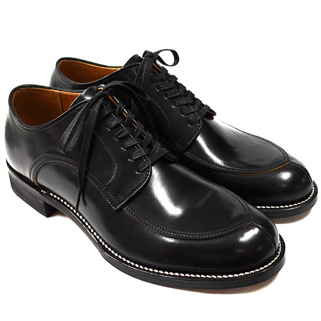 V TIP BLUCHER 15AW BLACK