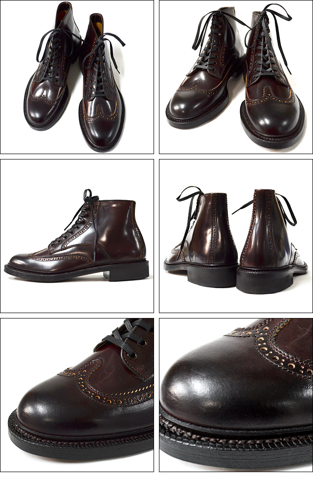 BROGUE WING 15AW DARK BURGUNDY