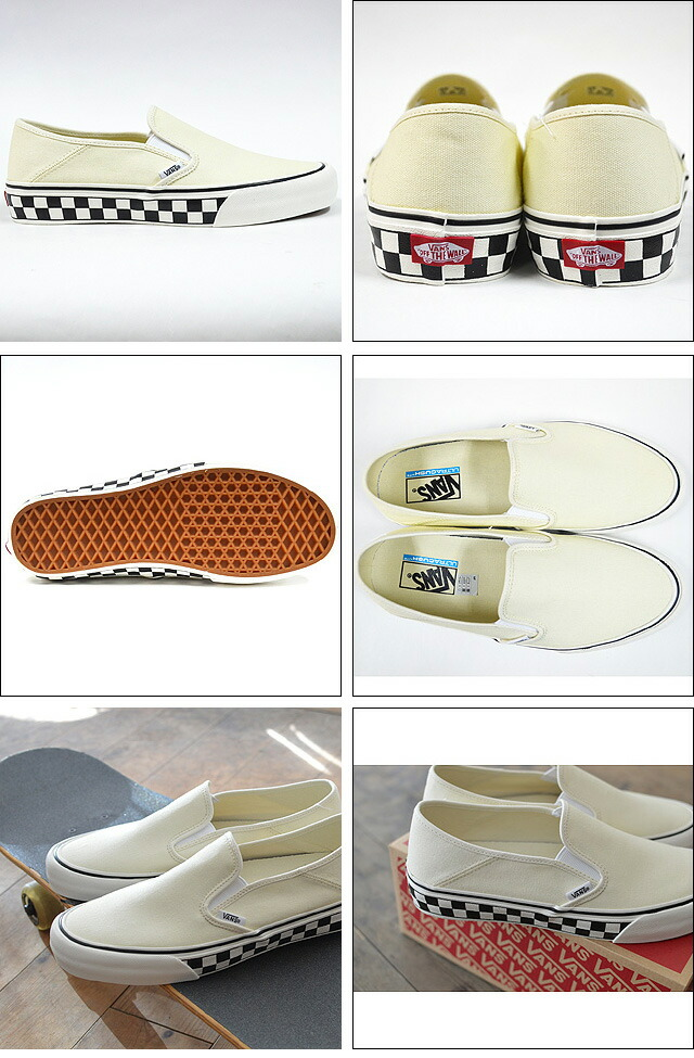 CLASSIC SLIP-ON SF Surf CLASSIC WHITE/CHECKER VN0A3MVDR41