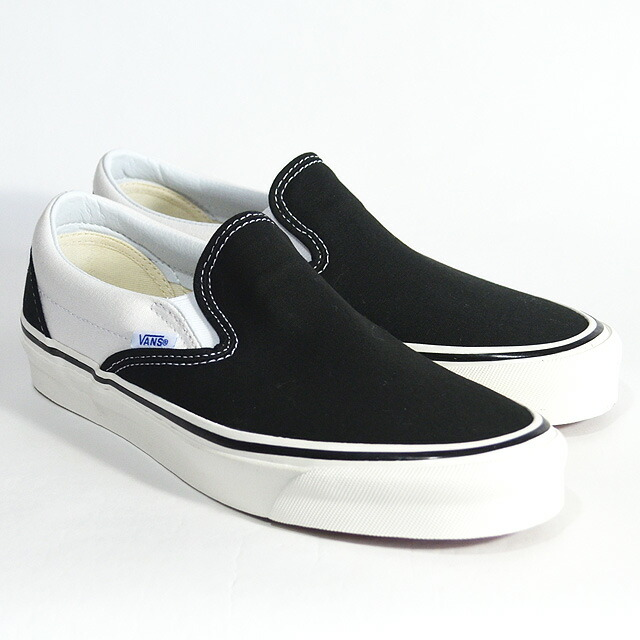 Classic Slip-On 98DX(ANAHEIM FACTORY) BLACK/WHITE VN0A3JEXQF6