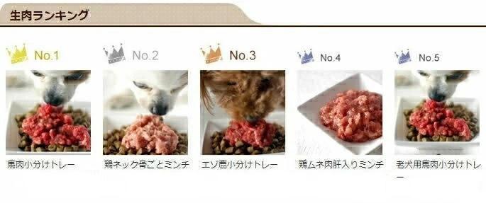 生肉ランキング