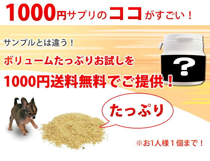 1000円サプリのココがすごい!