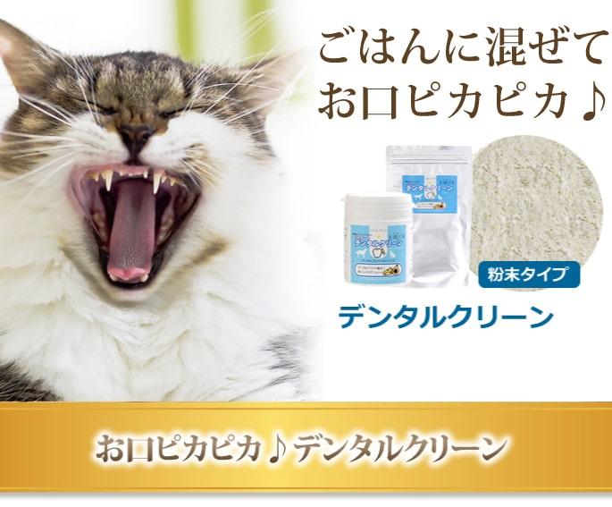 猫 口臭 サプリ デンタルクリーン