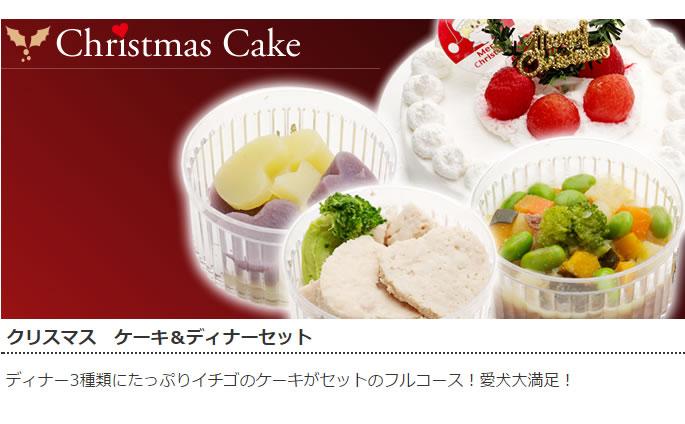 クリスマス ケーキ&ディナーセット