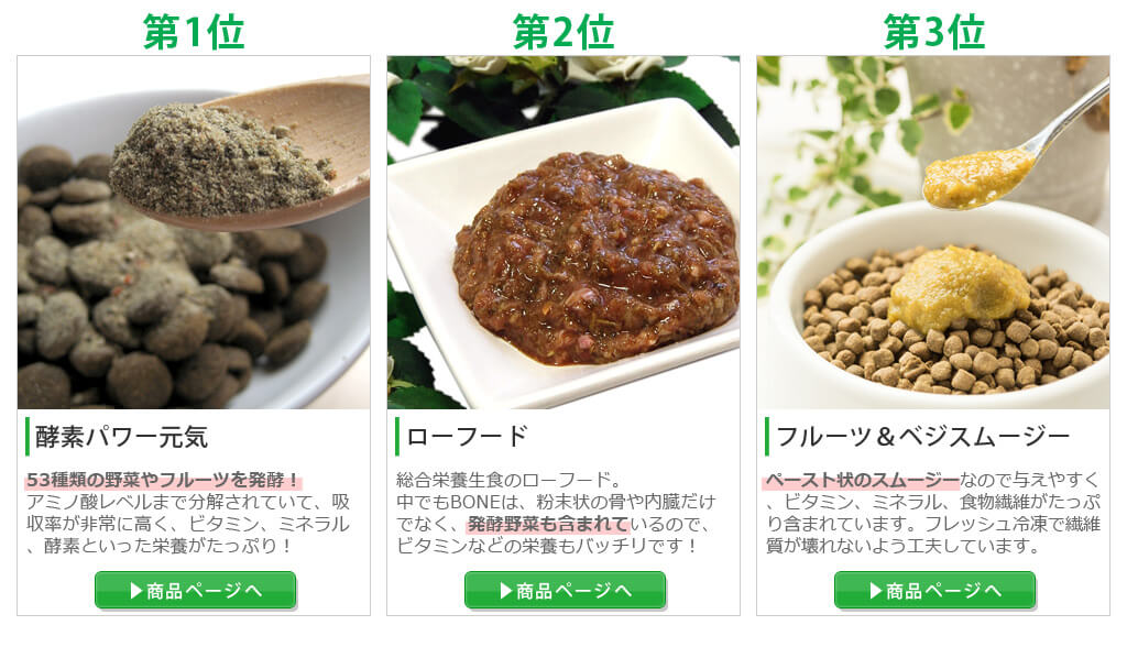 野菜の栄養が摂れる商品ランキング
