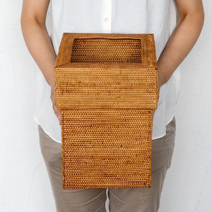 ゴミ箱 ダストボックス アジアン アタ シンプル くずかご