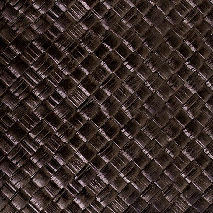 パンダンで編まれたモダンな四角いごみ箱 ダストボックス 縦型 くずかご おしゃれ リビング バリ雑貨 モダン アジアン雑貨 ダークブラウン ゴミ箱 インテリア 寝室