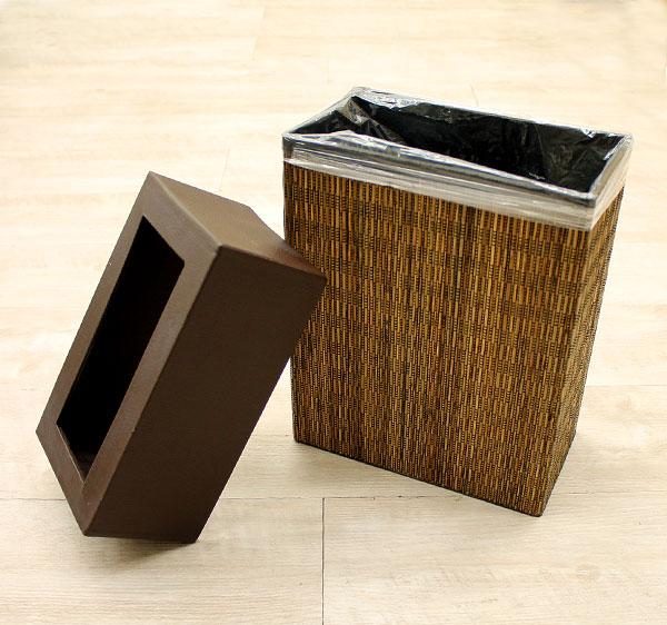 ポイントレザーのパームリディ製ダストボックス