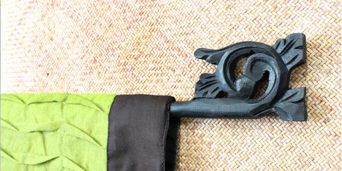 イカットハンガー イカット タペストリー 壁掛け ファブリック 装飾 布 バリ雑貨 アジアン雑貨