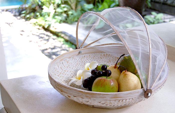 果物をぽんと入れるだけでも絵になるおしゃれなフルーツバスケットを教えてください。
