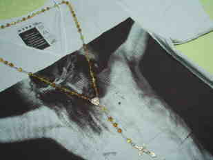 グアダルーペマリアTシャツ、マリア様Tシャツ、キリストTシャツ、ジーザスTシャツ、クロスネックレス、十字架ネックレス、天使の雑貨、エンジェル