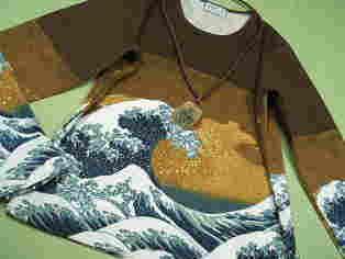 和柄、着物柄、ニッポンモチーフ、刺青、武士、浮世絵、北斎、写楽