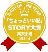 ショップオブザイヤー2013STORY大賞