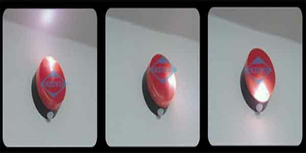 SLR85R(パトピカ)【リーベックス製屋外設置対応人感センサー搭載LED回転灯】