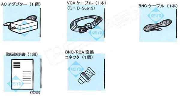 LAD-DT17【CEPSA(セプサ)製HDMI/VGA/BNC入力搭載17インチ監視カメラ用液晶モニター】