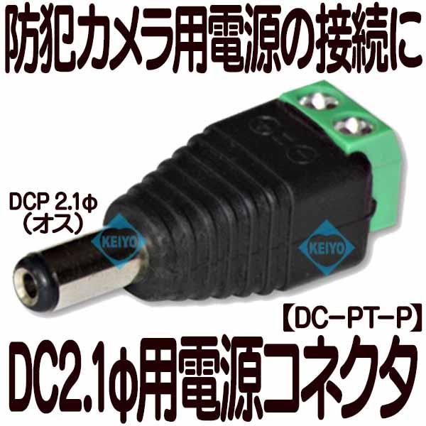DC-PT-P【ネジ式接続電源端子)】