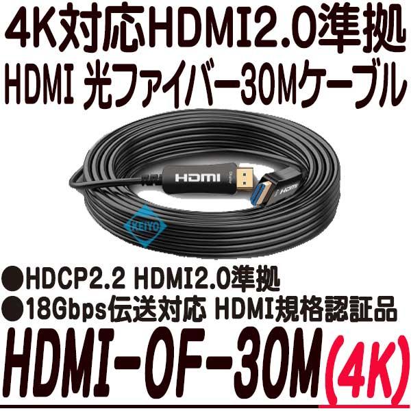 HDMI-OF-30M【4K対応HDMI光ファイバー30mケーブル】