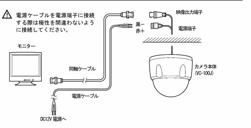 VC-100J【防犯カメラ】