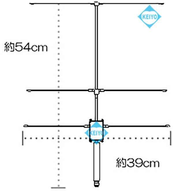 NY-399X3【盗聴器発見用高利得八木アンテナ】