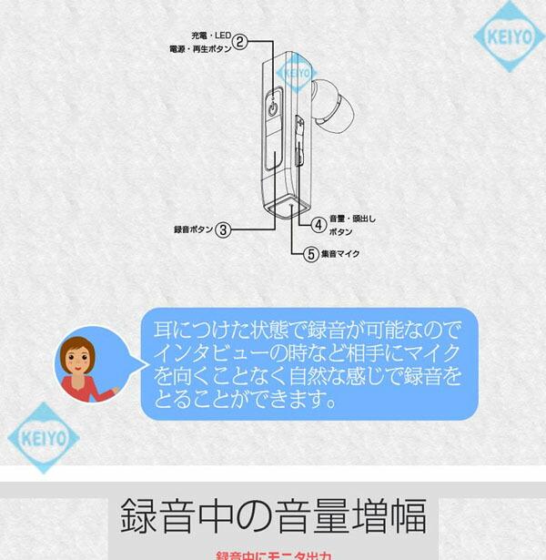 VR-NH100【自動感度調整搭載1GBメモリ内蔵ボイスレコーダー】