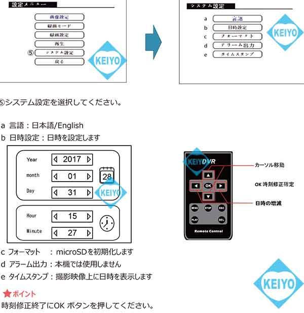 ASD-SD720AHD【SDカード録画ドーム型カメラ】