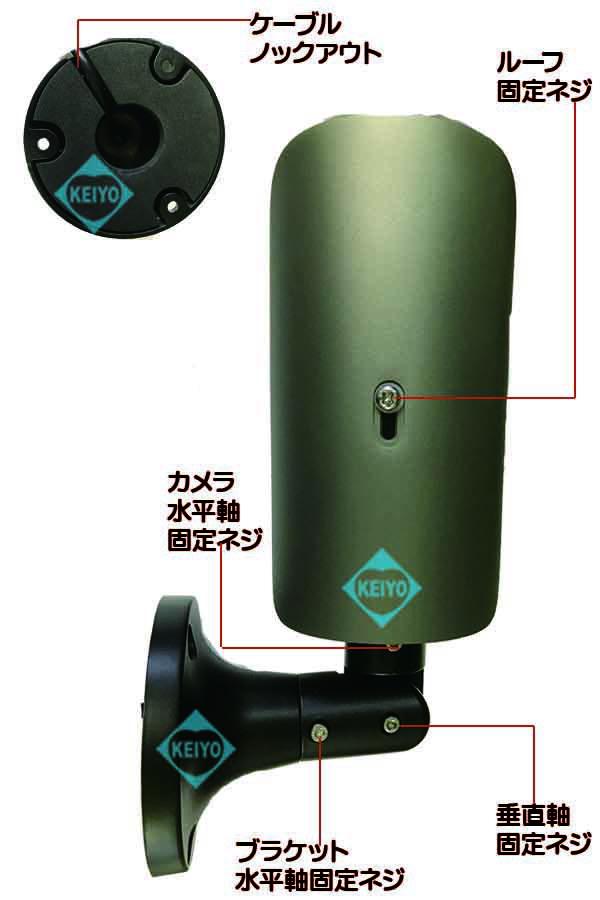 WTW-AR231NE-94【220万画素屋外設置対応不可視赤外線搭載バレット型カメラ】