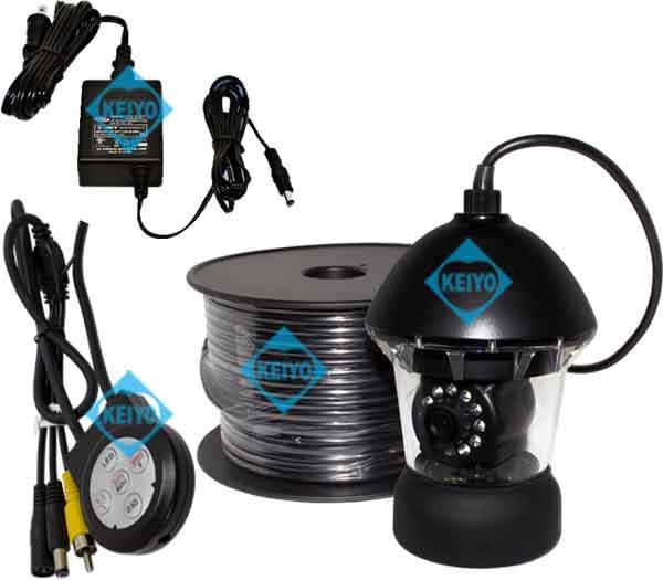 WTW-WPA40W-50M【6気圧防水対応50mケーブル付360度旋回対応カメラセット】