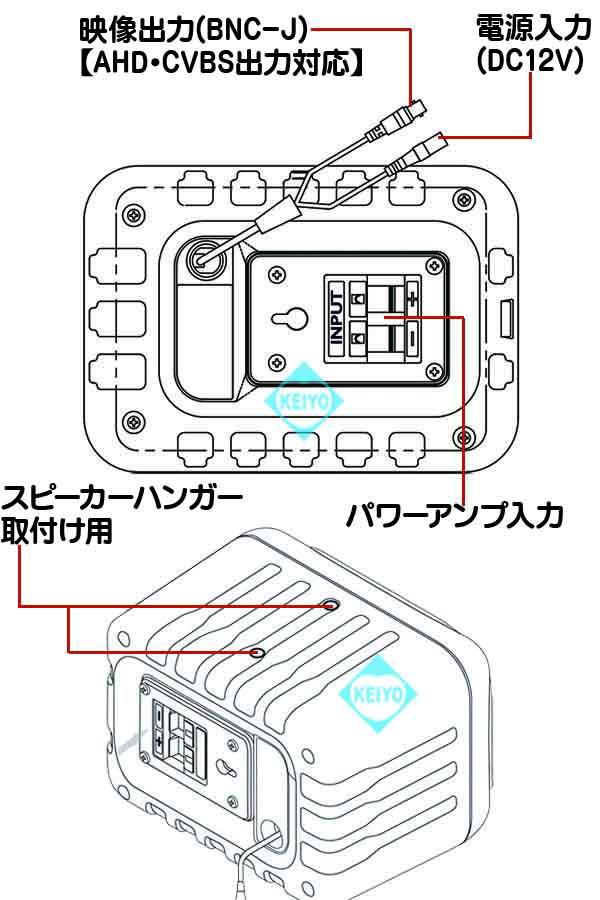 AV-635II-AHD【220万画素AHD方式スピーカー型カメラ】