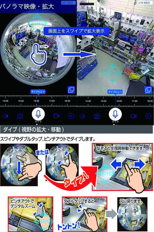 GS-CG360DTK(Dive-yミニシーリング360)【引っ掛けシーリング用カメラ】