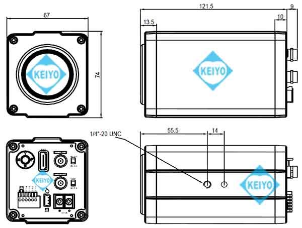 TS-HD370PZ3【HD-SDI/EX-SDI/HDTVI方式対応光学30倍ズームカメラ】