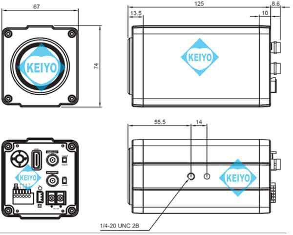 TS-HDL230Z【HD-SDI/EX-SDI方式対応光学30倍1/2インチ低照度ズームカメラ】