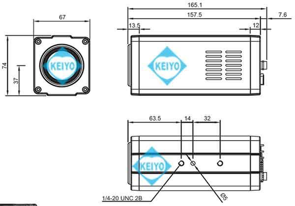 TS-HDL212ZN【HD-SDI/EX-SDI/IP方式対応光学12倍1/2インチ低照度ハイブリッドズームカメラ】