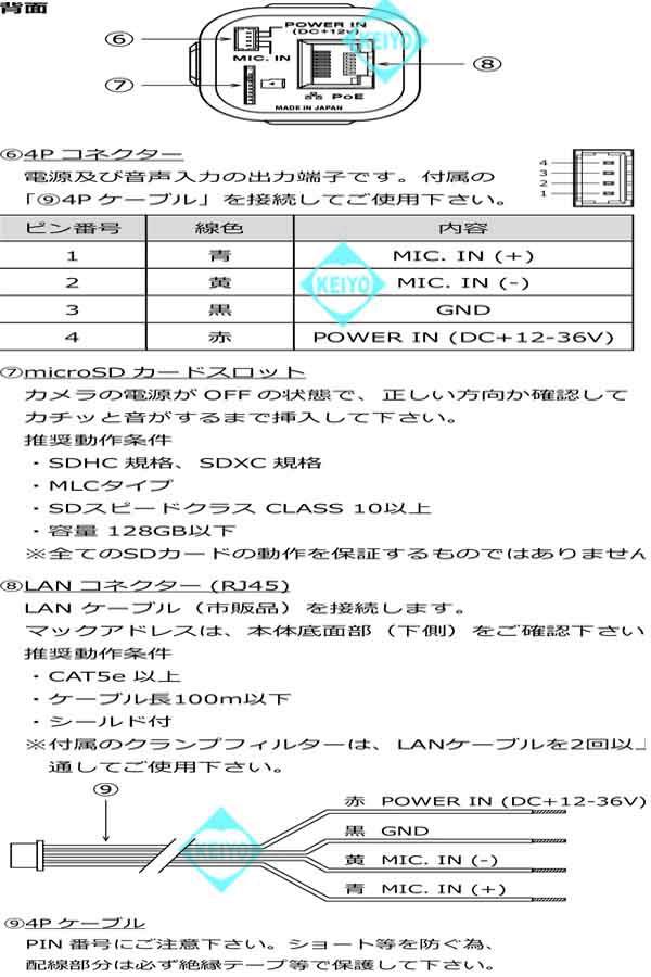 WAT-2400S【日本製CSマウント対応裏面照射型CMOS搭載高感度ネットワークカメラ】