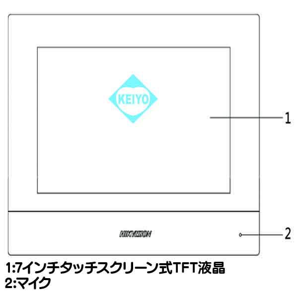DS-KC001【7インチサーマルカメラ用モニタリングユニット】