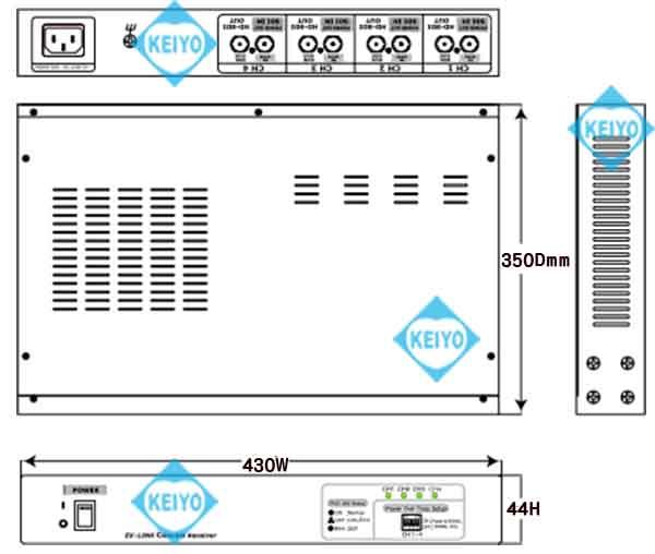 WTW-8HC08D2【HD-SDI信号用映像/電源伝送8ch送受信機セットWTW-8HC08D2【HD-SDI信号用映像/電源伝送8ch送受信機セット】