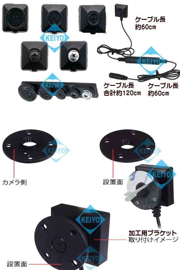 PMC-3L【Wi-Fi機能搭載レコーダーPMC-7専用3.2ケーブル仕様フルハイビジョンカメラ】